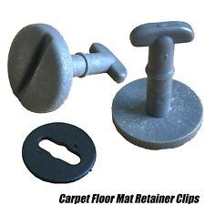 10x Floor Mat Carpet Grey Clips For BMW Series E36 E46 E38 E39 Twist Lock Washer