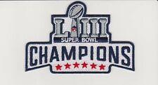 2019 Super Bowl Champions New England Patriot Football Jersey Patch Tom Brady