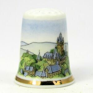 THIMBLE COLLECTORS CLUB, REICHSBURG COCHEM BY SCHIRNDING, GERMANY