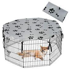Dog Playpen Cover for Indoor & Outdoor - Uv Resistant & Waterproof Pet Crate