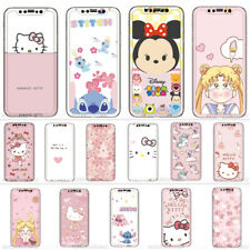 Cartoon Disney Kitty Tempered Glass Screen+Case For iPhone 11 Pro XS Max 6s/7/8+