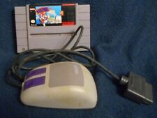 Mario Paint - SNES Super Nintendo Game And Mouse Set