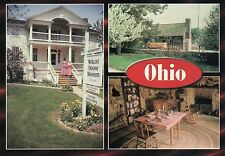 Wolcott House Museum Complex River Road, Maumee Ohio, Historic Houses - Postcard
