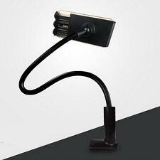 Noir Souple tourne Portable Smartphone Support Support pour téléphone portable/iPad HS