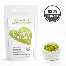 Japanese Matcha Ryori Green Tea Powder | USDA Organic - FREE 1-3 Day USA Shpping