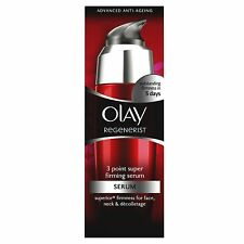2 X Olay Regenerist Daily 3 Point Super Firming Serum 50ml...brand new & boxed