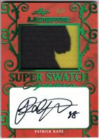 PATRICK KANE 2019-20 Leaf Ultimate SUPER SWATCH Signatures AUTO PATCH #2/5
