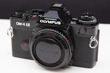 [UNUSED IN BOX] Olympus OM-4 Ti Black 35mm SLR Film Camera