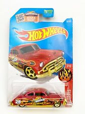 2015 Hot Wheels Showdown 52 HUDSON HORNET RED Black Flames # 97/250