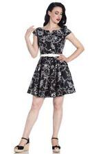 Boat Neck Short Sleeve Dresses for Women's 1950s