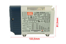 Controlador Led CC Meanwell LCM-60DA Regulable DALI Botón NO cc Seleccionable
