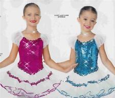 Dance Costume jazz  Ballet  Skate  Tap Pageant sparkle 257