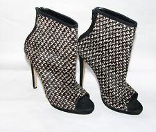 Vintage Oscar de la Renta Ankle boots open toe womens' 41EUR/10.5 US
