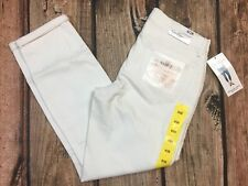 Jessica Simpson Rolled Crop Skinny White Denim Jeans Womens Size 6 /28