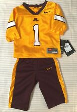 NWT Nike MINNESOTA Baby Boy 2 Piece Size 3-6 Mos Top Pants Golden Gophers GIFT!