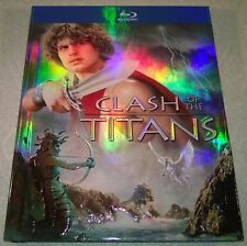 Clash of the Titans (2010, Canada) Embossed Digibook Like New