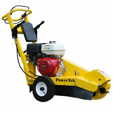 New PowerTek 13 HP Honda Stump Grinder Rental Duty GX390 Made In The USA