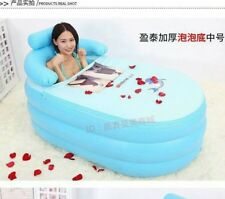 Portable Folding Inflatable Bath Tub with Air Pump for Family Bathroom SPA