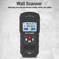 WT55 Digital Wall Scanner Detector Detecting Wire Water Pipes Metal Finder