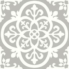 "Fp2942 Medina Peel "" Stick Floor Tile, Grey -"