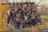 Waterloo 1815 1/72 AP008 Polish Infantry 1812/14 (Napoleonic Wars) (36 Figures)