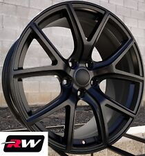 "20"" RW Wheels for Dodge Durango Satin Black Grand Cherokee SRT Night Style Rims"