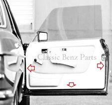 Mercedes W123 Coupe Door rubber gasket seals 230C 230CE 280C 280CE 300CD