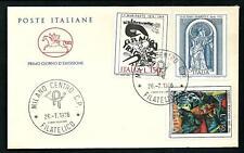 Italia 1976 : Arte Italiana - FDC Cavallino / 1° giorno di emissione