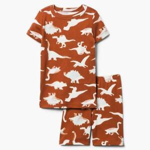NWT Gymboree Boys Dino Dinosaur Gymmies Pajama Set Pj cotton