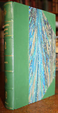 1861 Beautiful Leaved Plants EJ Lowe 60 Chromolithographed Plates Half Leather