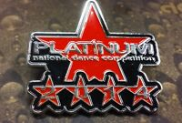 Platinum National Dance Competition 2014 pin