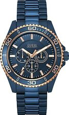 Guess Iconic Signature W0172G6, Multi Function Full Blue Watch for Men