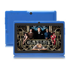 "7""A33 Quad Core Google Android 4.4 Kids Tablet PC 8GB Dual Camera WIFI Blue"