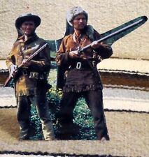 "Disney Davy Crockett ""Fess Parker & Buddy Ebsen"" Movie Tabletop Display Standee"