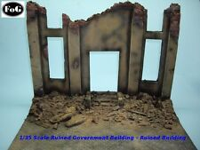 1/35 Scale WW2 Ruined Large German Government Building - Big Diorama kit