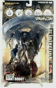 Spawn LA Interlink 6: Spawn Robot Figurine