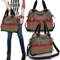 Fashion Women Shoulder Bag Satchel Crossbody Tote Handbag Purse Messenger Canvas