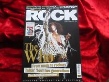 CLASSIC ROCK Magazin (UK OCT 2003) incl THE WHO Coverstory + Deep Purple ua