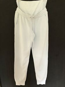 Lindex At ASOS Pale Blue Maternity Joggers Size M Size 14