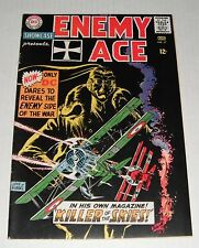 Showcase # 57..Enemy Ace--B... looks VF, but staple pull....1965 comic book