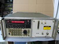 Eaton 380KII Synthesized Signal Generator Powers On, Untested, As Is