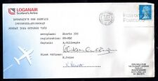 More details for 1989 loganair cover stornaway-invernes sgd crew (water damaged) ws10443