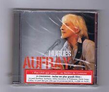 CD (NEUF) HUGUES AUFRAY PLUS LIVE QUE JAMAIS