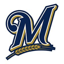 12 STICKERS MILWAUKEE BREWERS  Vinyl HQ Window WALL LAPTOP DECAL car