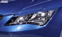RDX Scheinwerferblenden SEAT Leon 5F incl SC+ST Böser Blick ABS Blenden Spoiler