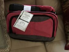 NEW Pottery Barn Kids COLTON Bright Pink/Grey Duffle Bag Travel Camp Luggage