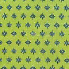 Gypsy Bandana Firefly Kiwi,  Michael Miller, 1/2 yard 100% cotton fabric
