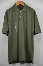 "NWT Men's IZOD, Pique Polo Shirt. Size M. Armpit 21"" Retail $44- Olive"