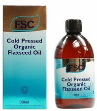 FSC ORGANIC Flaxseed Oil 500ml **BUY 1 GET 1 FREE**