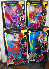 #3247 RARE NRFB Vintage Creata LACE Celebrity Rock Star Set of 4 Fashion Dolls